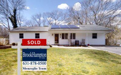 Just Sold! 32 Trainor Avenue, Center Moriches, NY 11934