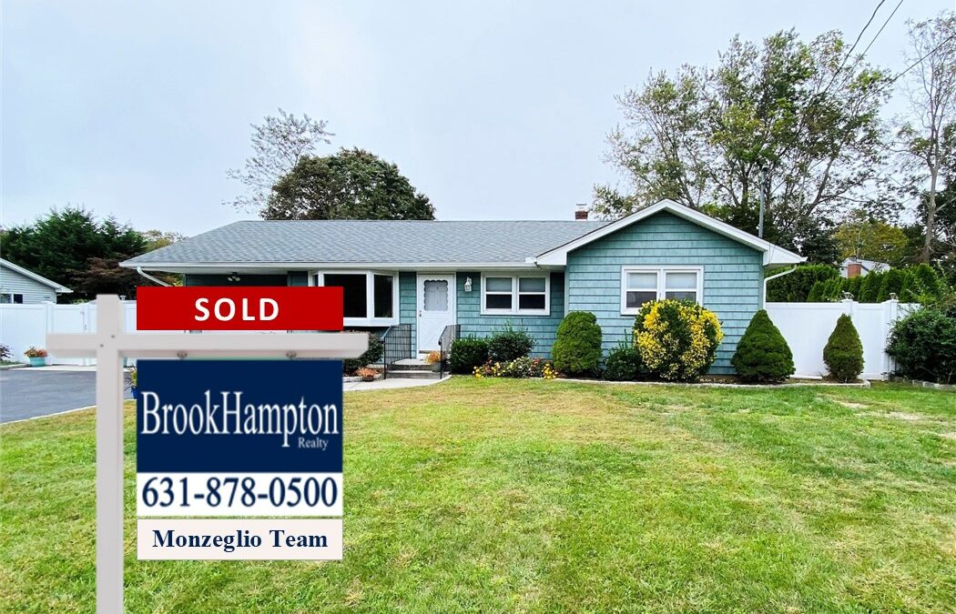 Just Sold! 28 Lake Avenue, Center Moriches, NY 11934