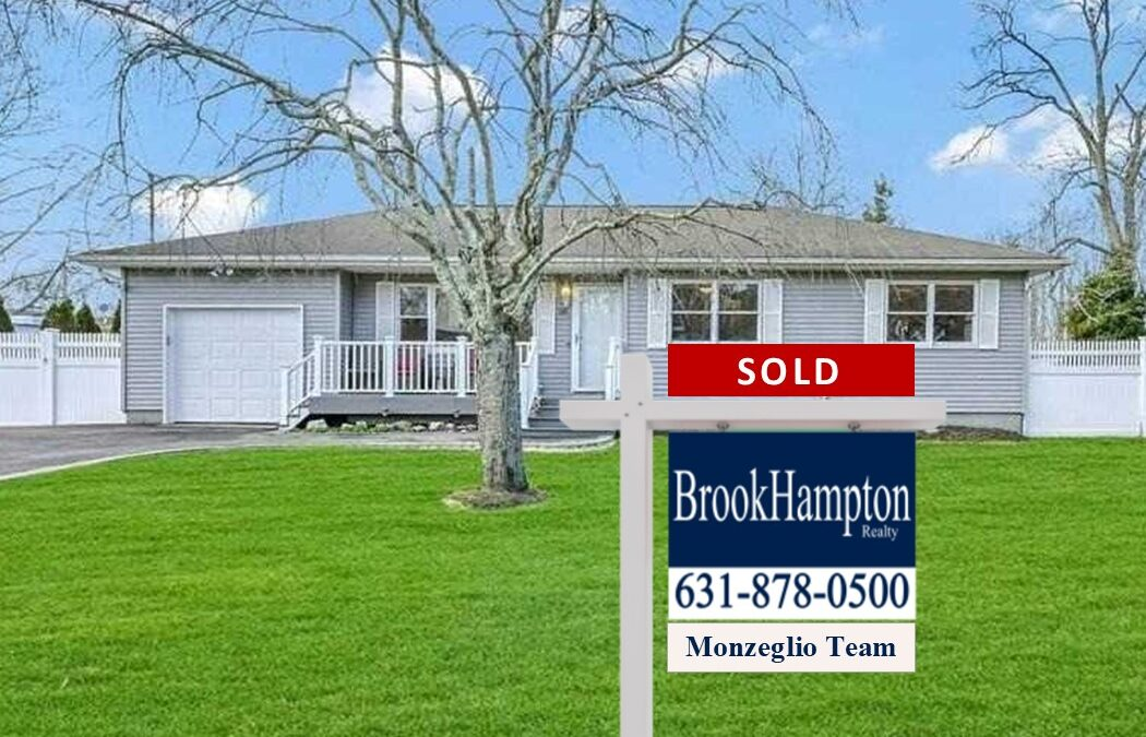 Another Happy Buyer! 68 Hawkins Avenue, Center Moriches