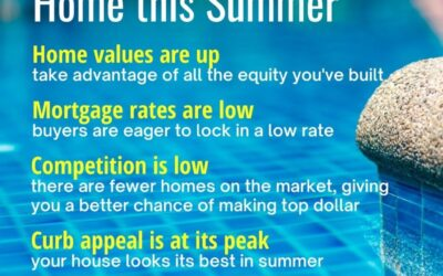 5 Reasons to Sell Your Home This Summer